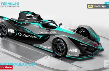 The Next Generation of Formula E Car Has Arrived